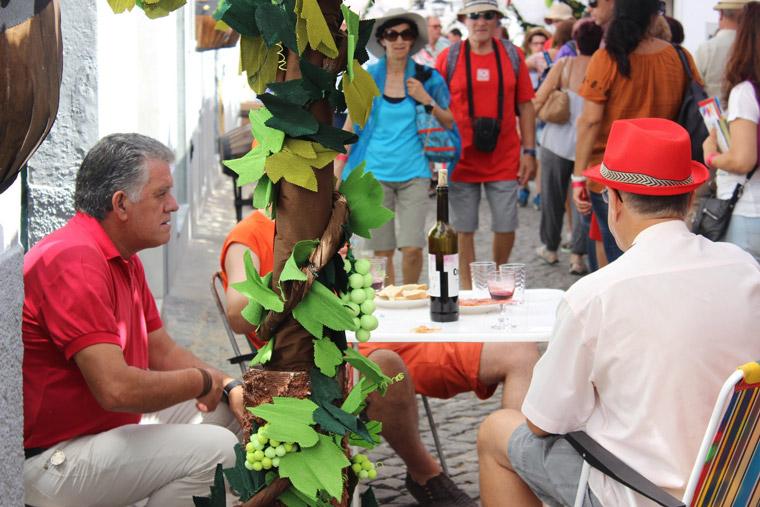 Flower's festival in Alentejo Portugal