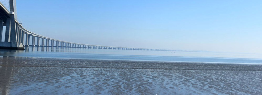 Under the bridge (Vasco da Gama bridge)