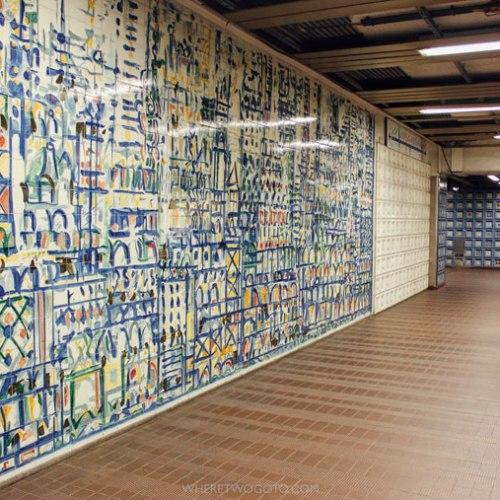 Exploring Lisbon's underground art