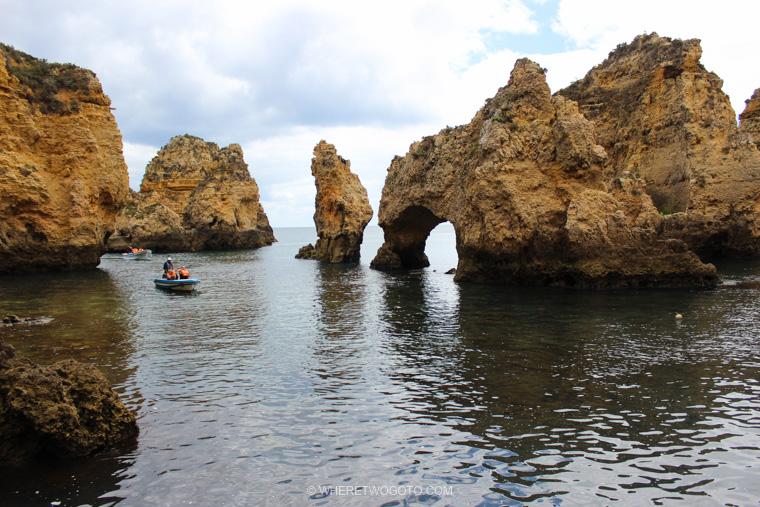 Ponta da Piedade Algarve Where Two Go To
