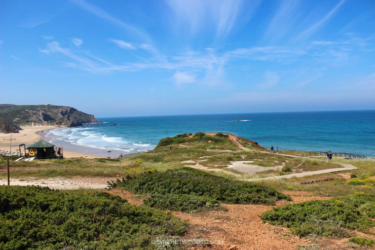 Praia do Amado Where Two Go To