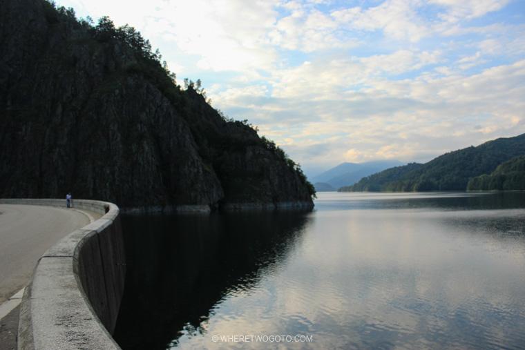 Vidraru Lake Transylvania Romania