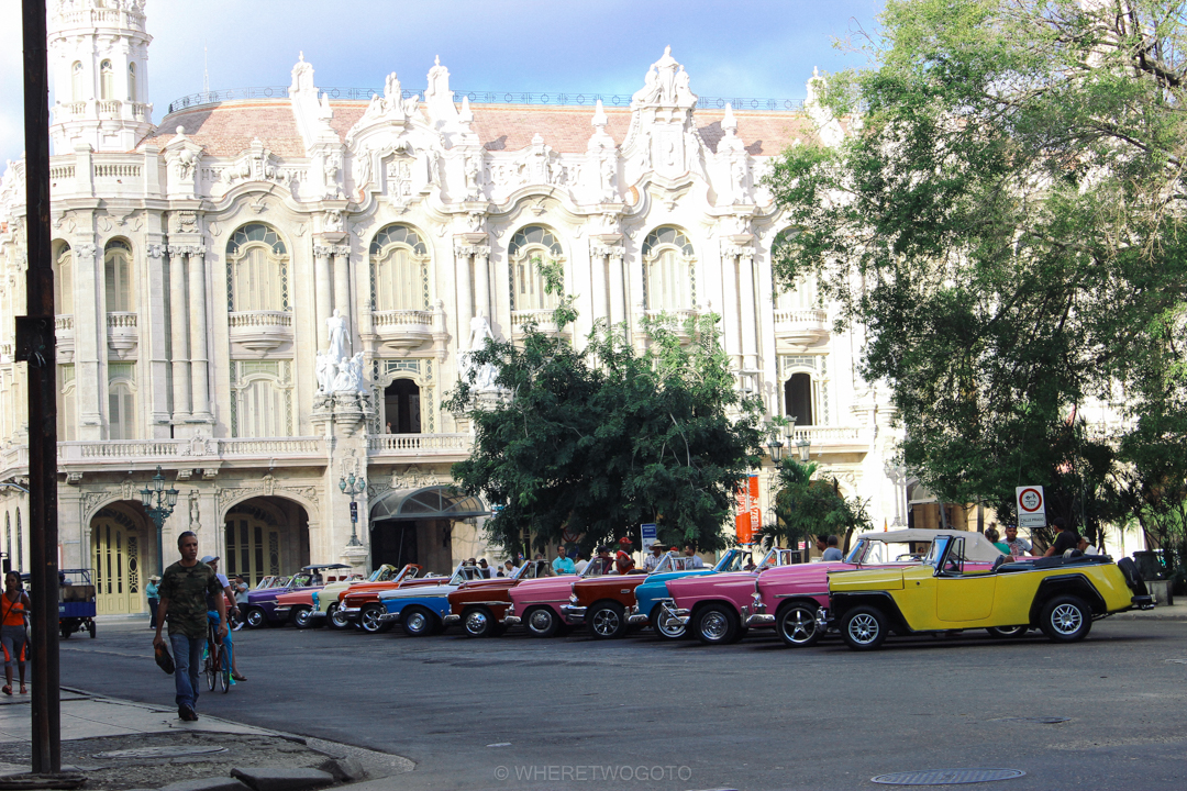 Classic Cars Capitolio Havana Cuba Where Two Go To-151