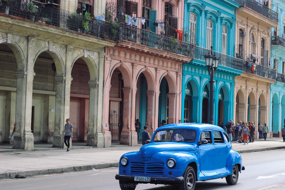 Car street Havana Cuba Where Two Go To