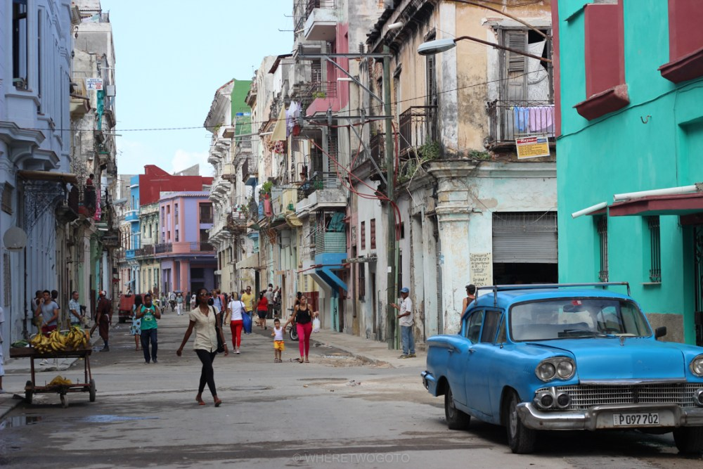 First day in Havana – streets that never sleep