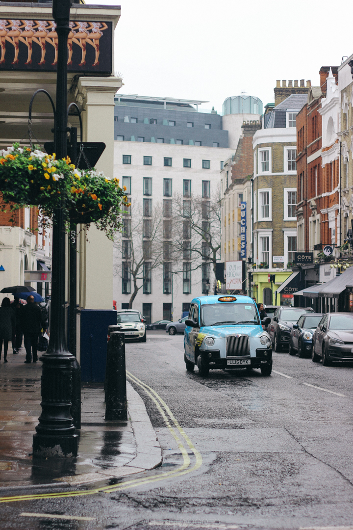 london street taxi