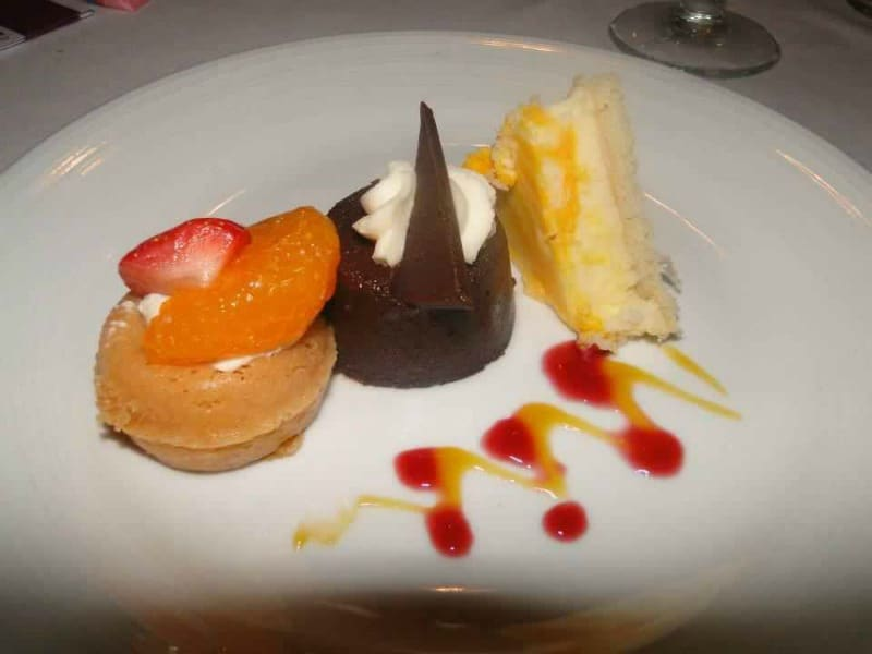 princess cruise ship food