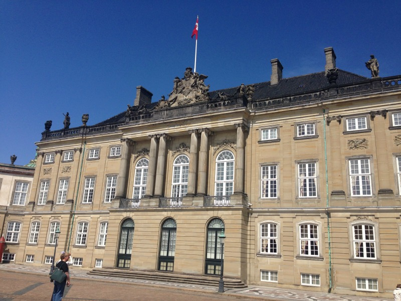 Amalienborg Castle is bursting with history.