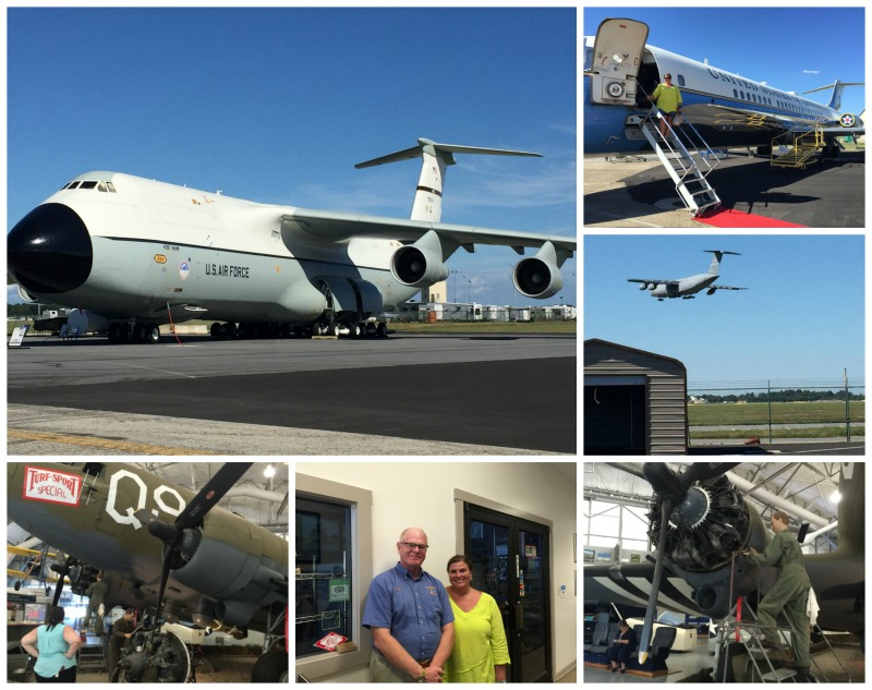 Touring the Air Mobility Command Museum is one of the awesome things to do in Delaware.