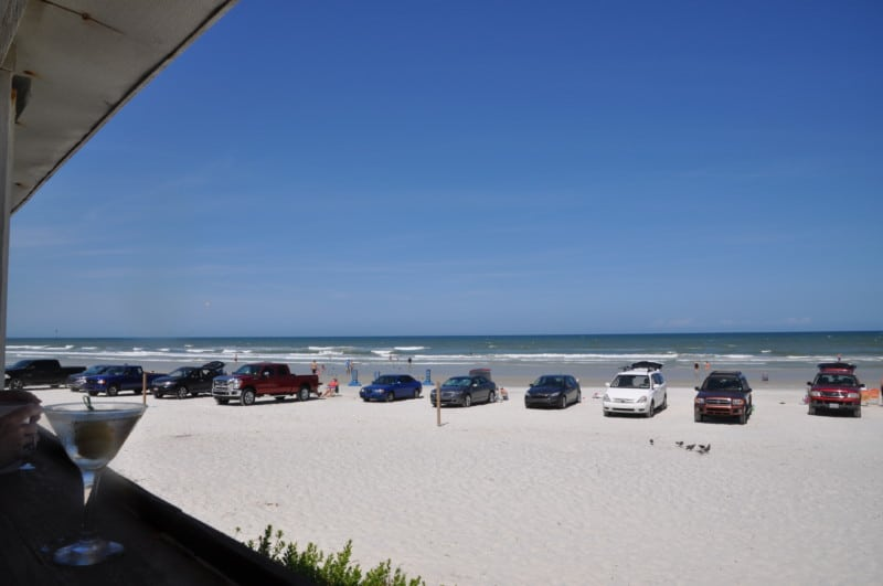 Cars are allowed to drive and park on the beaches in Volusia County, Florida.