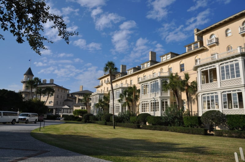 Jekyll Island, Georgia used to be full of millionaires summer homes.