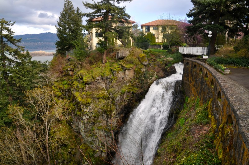 48 hours in portland, oregon falls at columbia gorge hotel