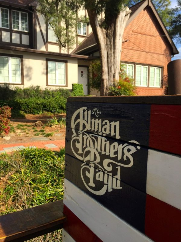 Touring the Allman Brothers house in Macon, Georgia is a must!