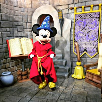 Meeting Sorcerer Mickey is one of the popular things to do at Walt Disney World.