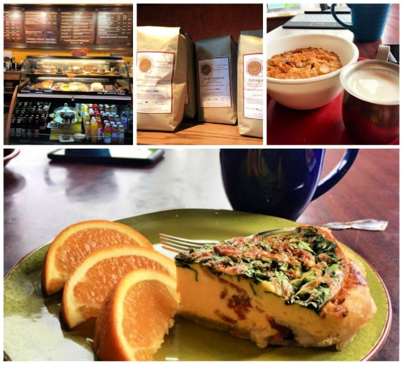 Brekafast in Huntingdon, Pennsylvania was perfect from Standing Stone Coffee, a local favorite.