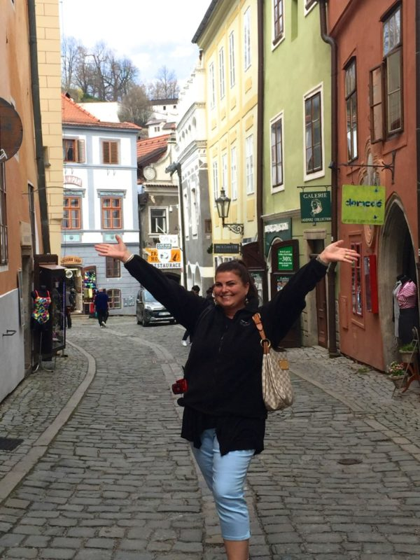 What a joy it was visiting the historic city of Cesky Krumlov in the Czech Republic during my Viking River cruise.