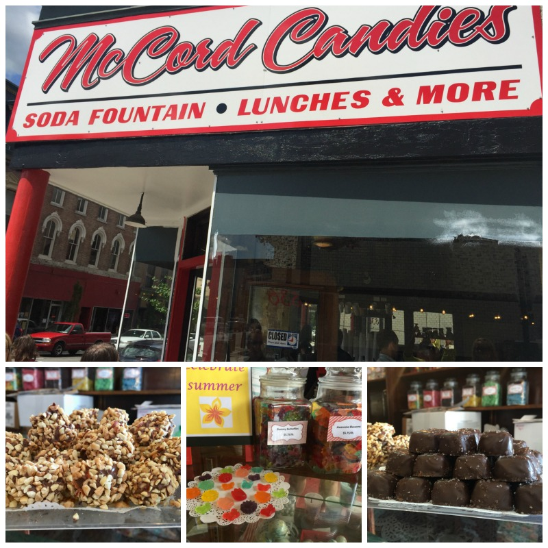 Buying some local candies from McCord Candies is a must when visiting West Lafayette, Indiana.