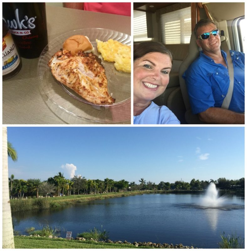 Our first RV trip was in the Minnie Winnie Winnebago with Go RV'ing through Fort Myers and Venice Beach, Florida.