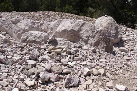 Rocks of Garnet Hill