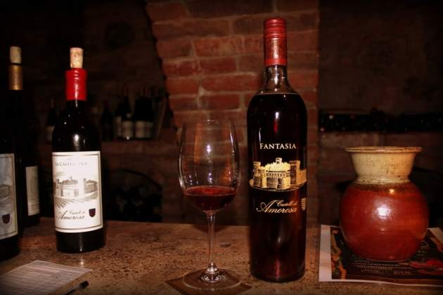 Fantasia sweet wine from Castello di Amorosa