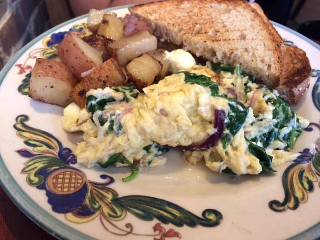 Zazie greece scrambled eggs
