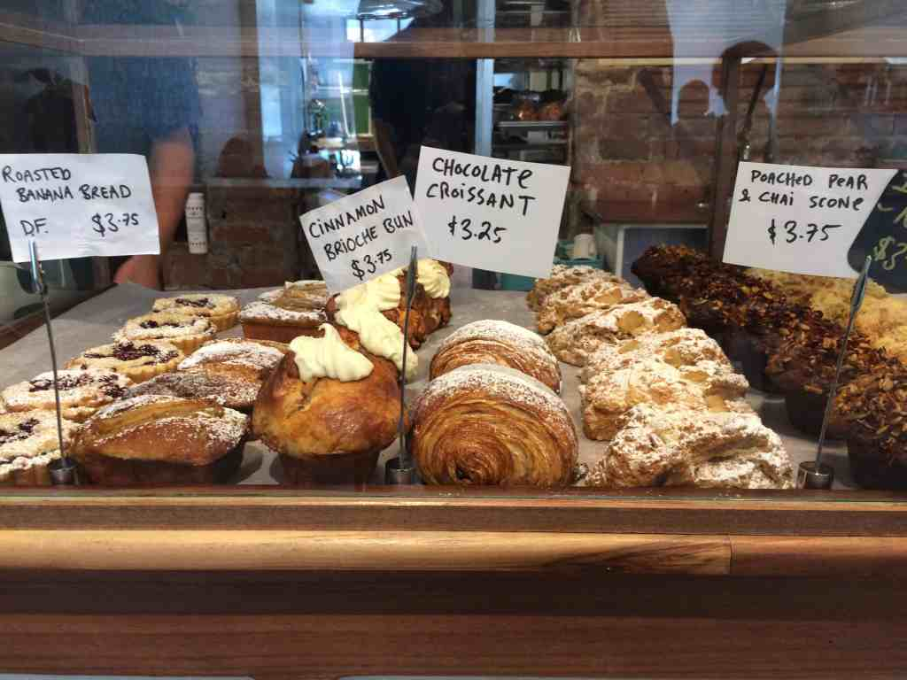 baked goods at Fantail Bakery Toronto