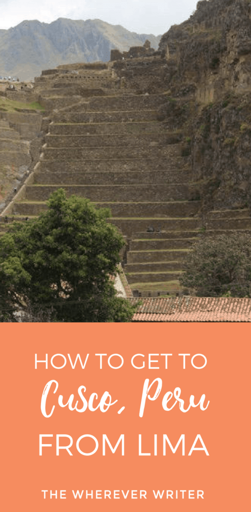 How to Get to Cusco, Peru from Lima