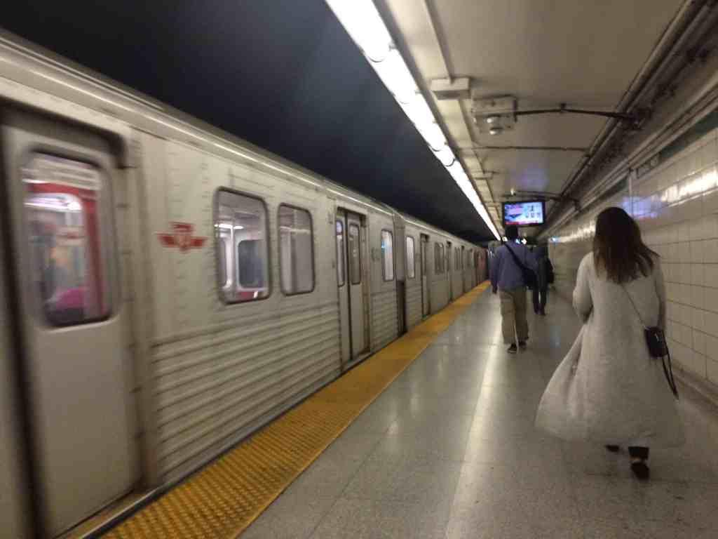 subway station