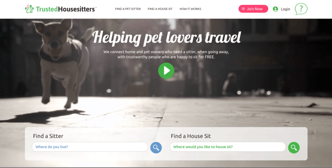 trustedhousesitters.com review