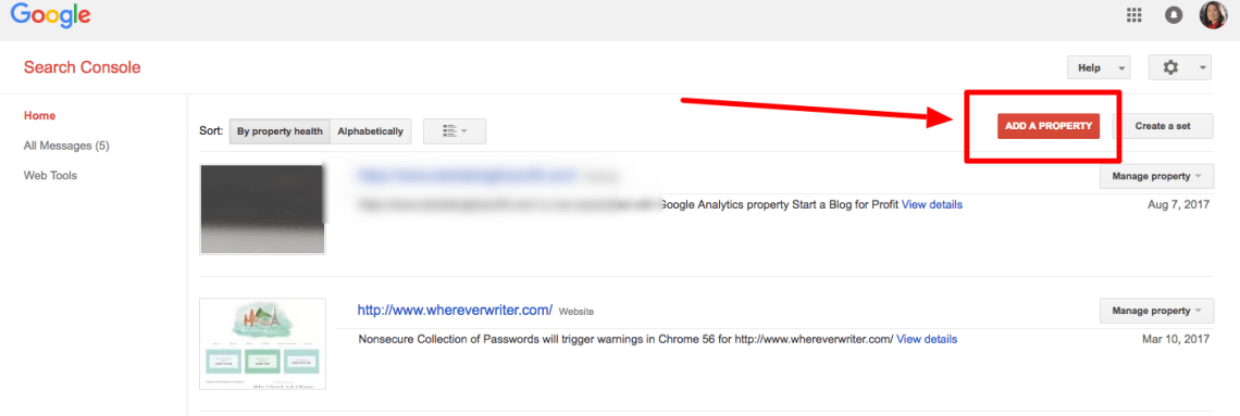 How to Switch to HTTPS - Update Search Console Step 1