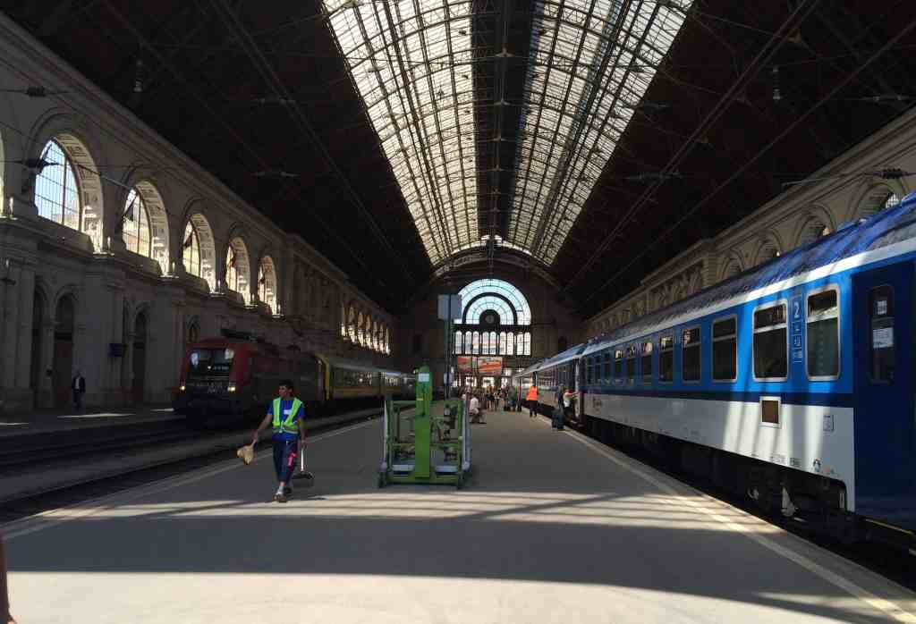 Eastern Europe Itinerary - Budapest Keleti Train Station