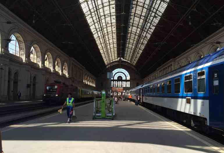 Eastern Europe Itinerary - Budapest Keleti Train Station