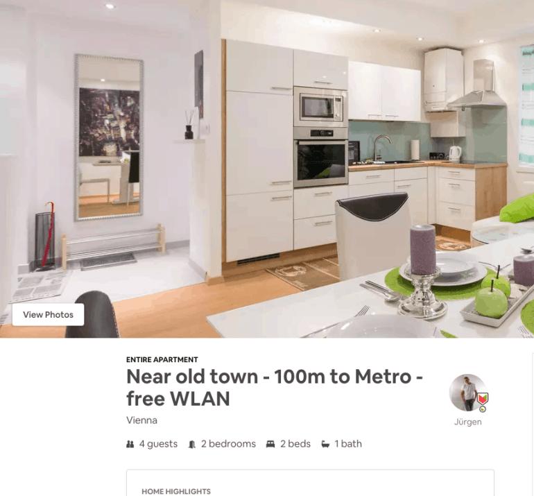 2 days in Vienna - Airbnb near Old Town