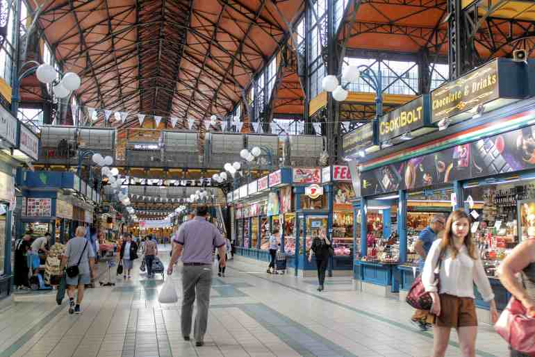 3 days in Budapest - Great Market Hall