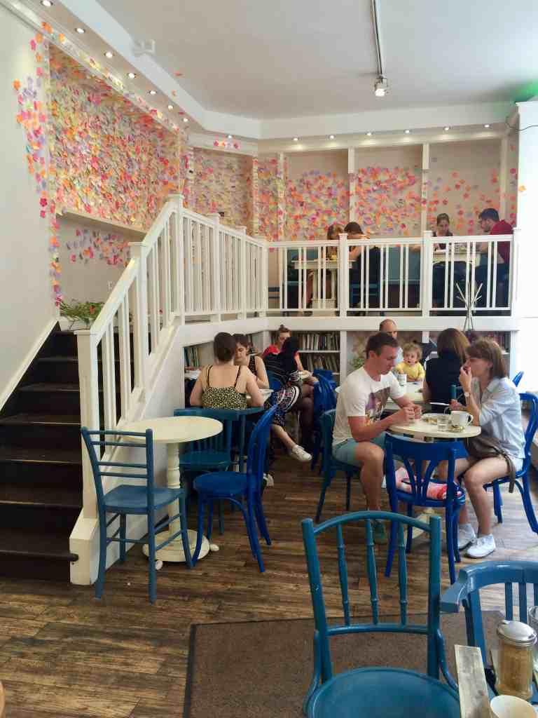 3 days in Budapest - Zoska coffee shop