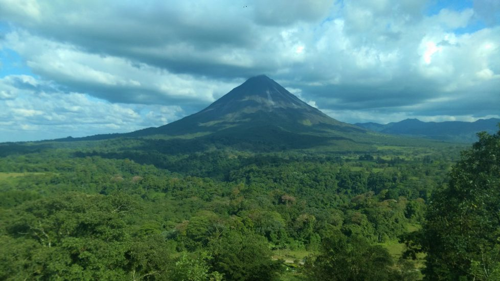 View of Arenal Volcano.