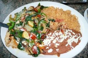 Sol Azteca meal
