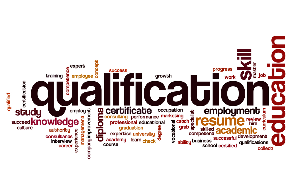 Qualifications available from Universities
