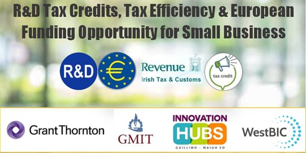 R&D Tax Credits, Tax Efficiency & European Funding Opportunities for SMEs