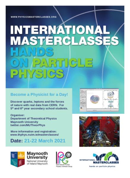 International Particle Physics Masterclasses at Maynooth University