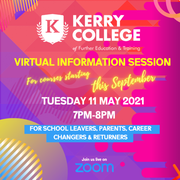 Kerry College – Virtual Information Session