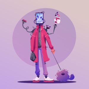 National Robot Art Challenge for School Children