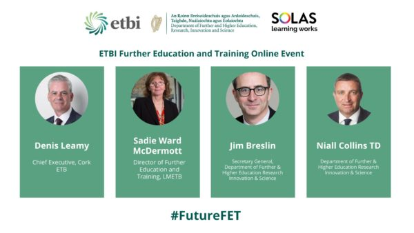 ETBI FET Online Launch Event Programme: The Vision for Tertiary Education