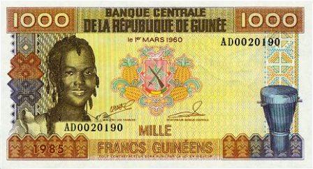 Guinean-franc