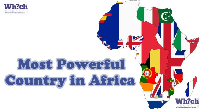 which country is most powerful in africa