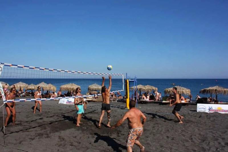Perivolos Beach Santorini