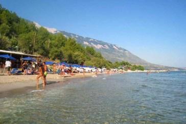 Trapezaki Beach Kefalonia