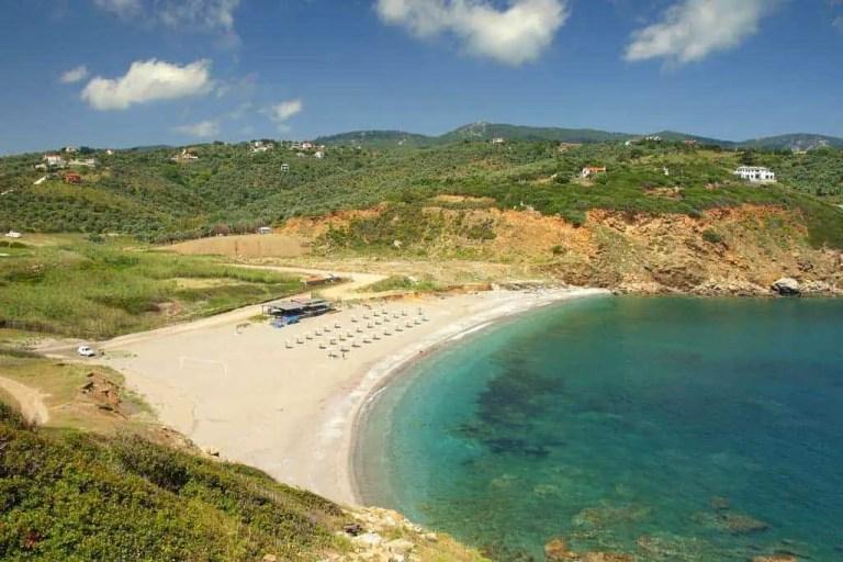 Xanemos Beach Skiathos
