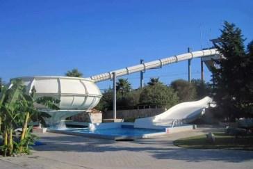Space Bowl at Lido Water Park Kos
