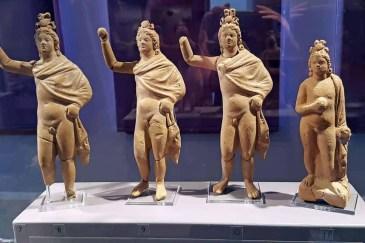 Archaeological Museum mini statues
